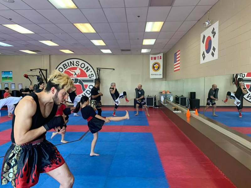 Kb1, Robinson's Taekwondo Sacramento CA